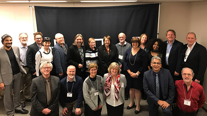 Annual meeting of UNESCO Chairs in Edmonton, Alberta, November 2017.